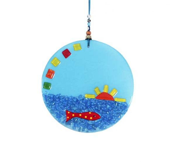 large round wall hanging