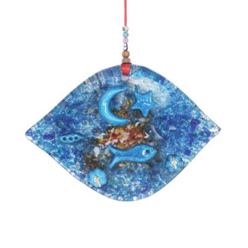 thick glass wall hanging