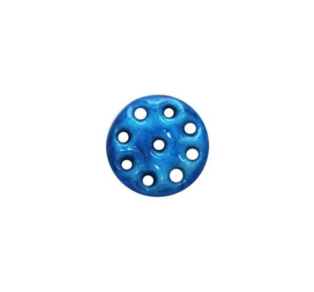 medium nine holes round kharmohre bead