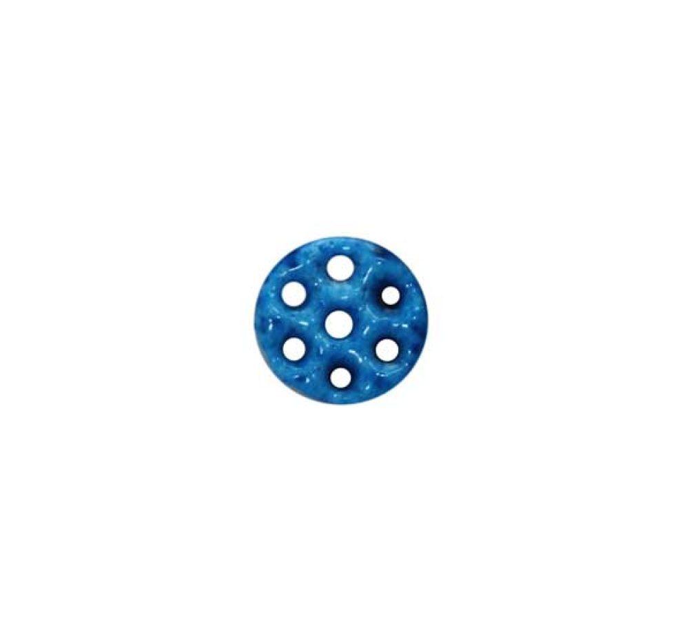 small seven holes round kharmohre bead