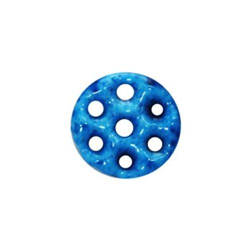 large seven holes round kharmohre bead