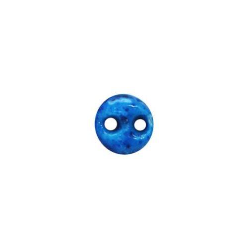 Tiny round two holes kharmohre bead