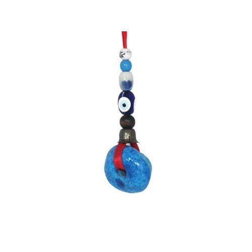 sphere car mirror hanging kharmohre bead