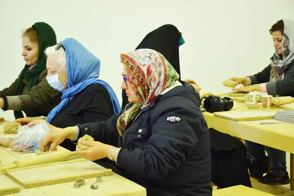 kharmohre workshop ورکشاپ خرمهره